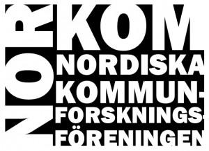 logo for Nordiska kommunforskningsföreningen