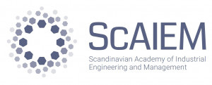logo for Scandinavian Academy of Industrial Engineering and Management