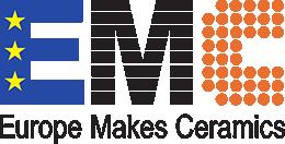 logo for Europe Makes Ceramics