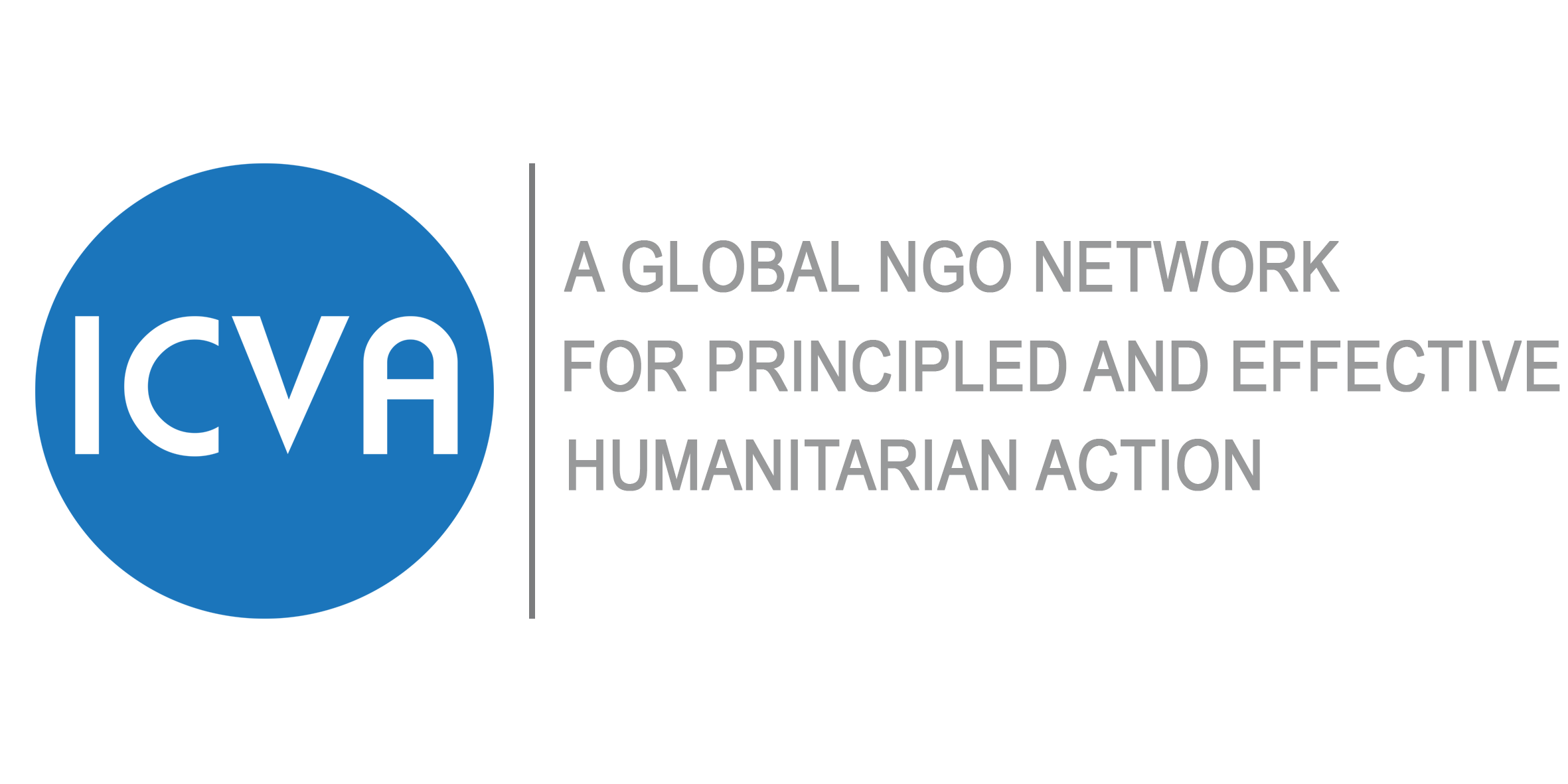 logo for International Council of Voluntary Agencies