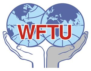 logo for World Federation of Trade Unions