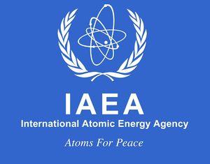 logo for International Atomic Energy Agency
