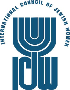 logo for International Council of Jewish Women