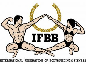 logo for International Federation of Bodybuilding and Fitness