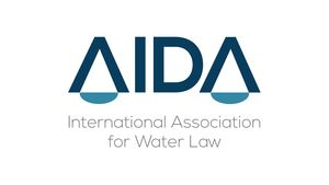 logo for International Association for Water Law