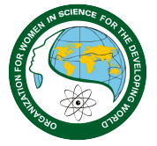 logo for Organization for Women in Science for the Developing World