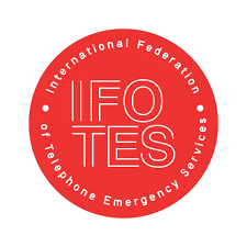 logo for International Federation of Telephone Emergency Services