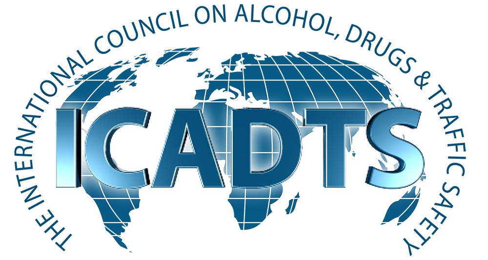 logo for International Council on Alcohol, Drugs and Traffic Safety