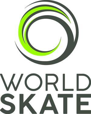logo for World Skate