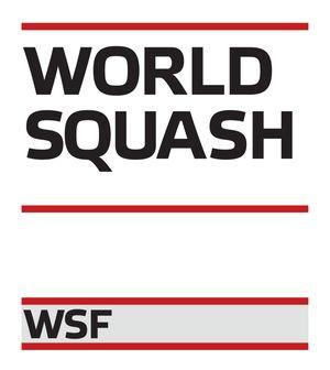 logo for World Squash Federation