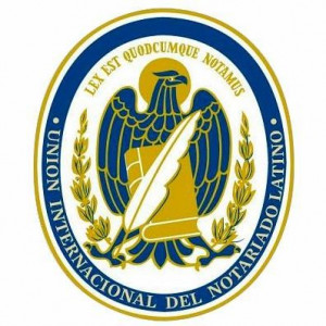 logo for International Union of Notaries