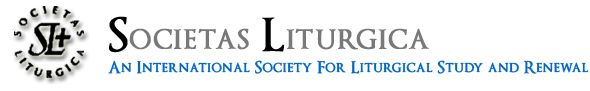logo for Societas Liturgica - International Society for Liturgical Study and Renewal