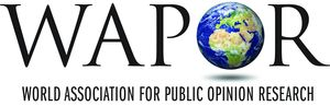 logo for World Association for Public Opinion Research
