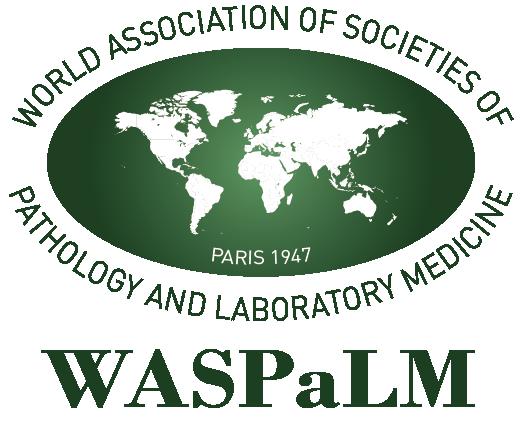 logo for World Association of Societies of Pathology and Laboratory Medicine