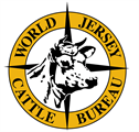 logo for World Jersey Cattle Bureau
