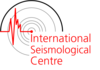 logo for International Seismological Centre