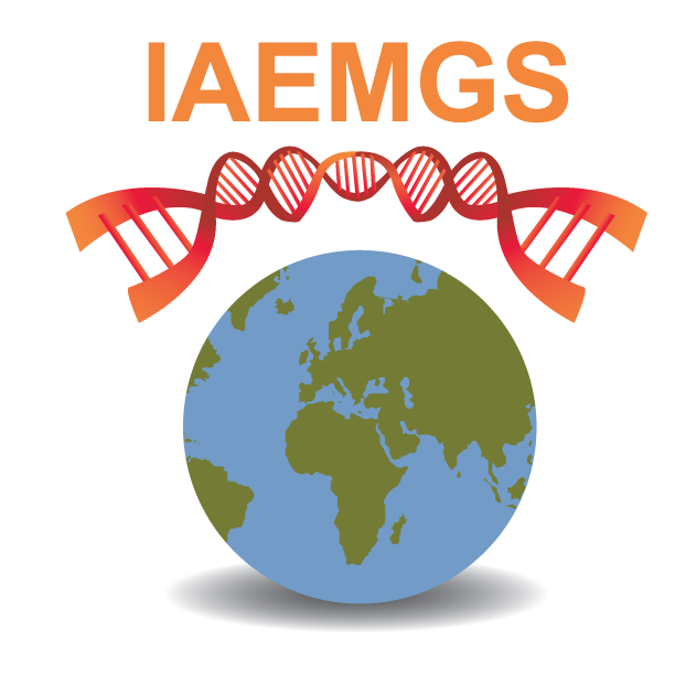 logo for International Association of Environmental Mutagenesis and Genomics Societies