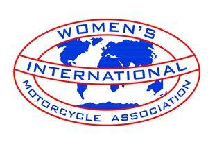 logo for Women's International Motorcycle Association