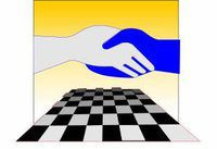 logo for Commonwealth Chess Association