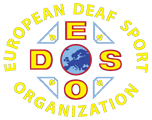 logo for European Deaf Sport Organization