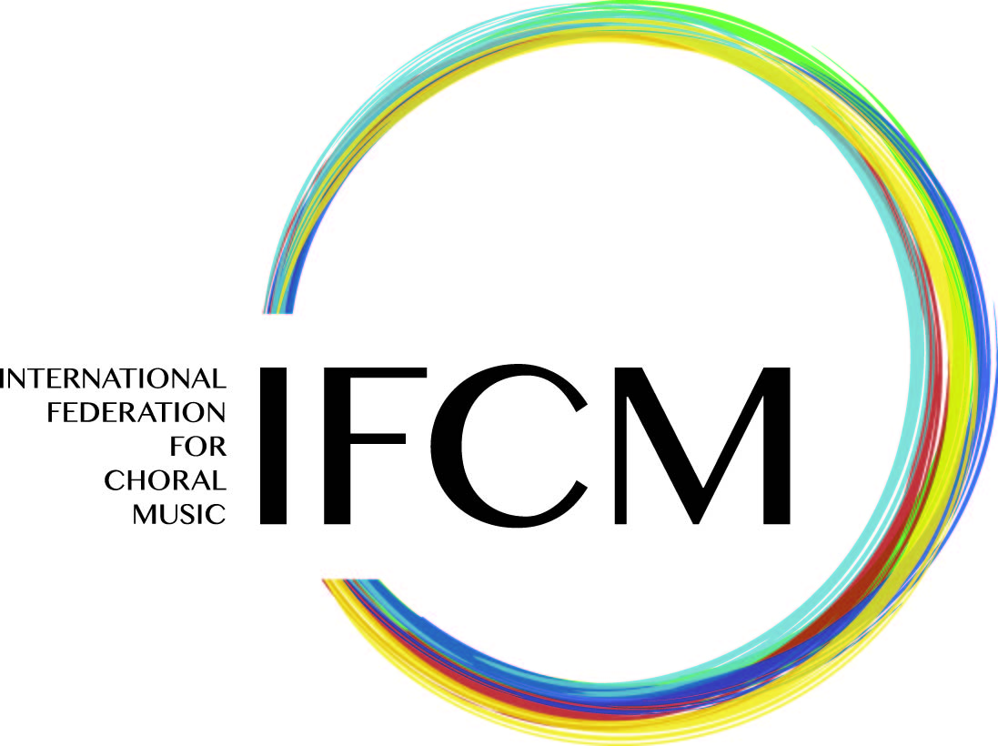 logo for International Federation for Choral Music