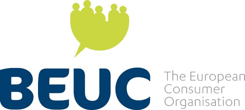 logo for Bureau Européen des Unions de Consommateurs