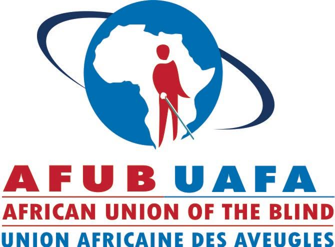 logo for African Union of the Blind