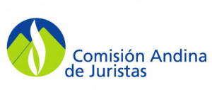 logo for Andean Commission of Jurists