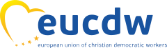 logo for European Union of Christian Democratic Workers