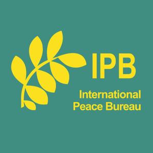 logo for International Peace Bureau