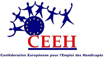 logo for Confédération européenne pour l'emploi des handicapés