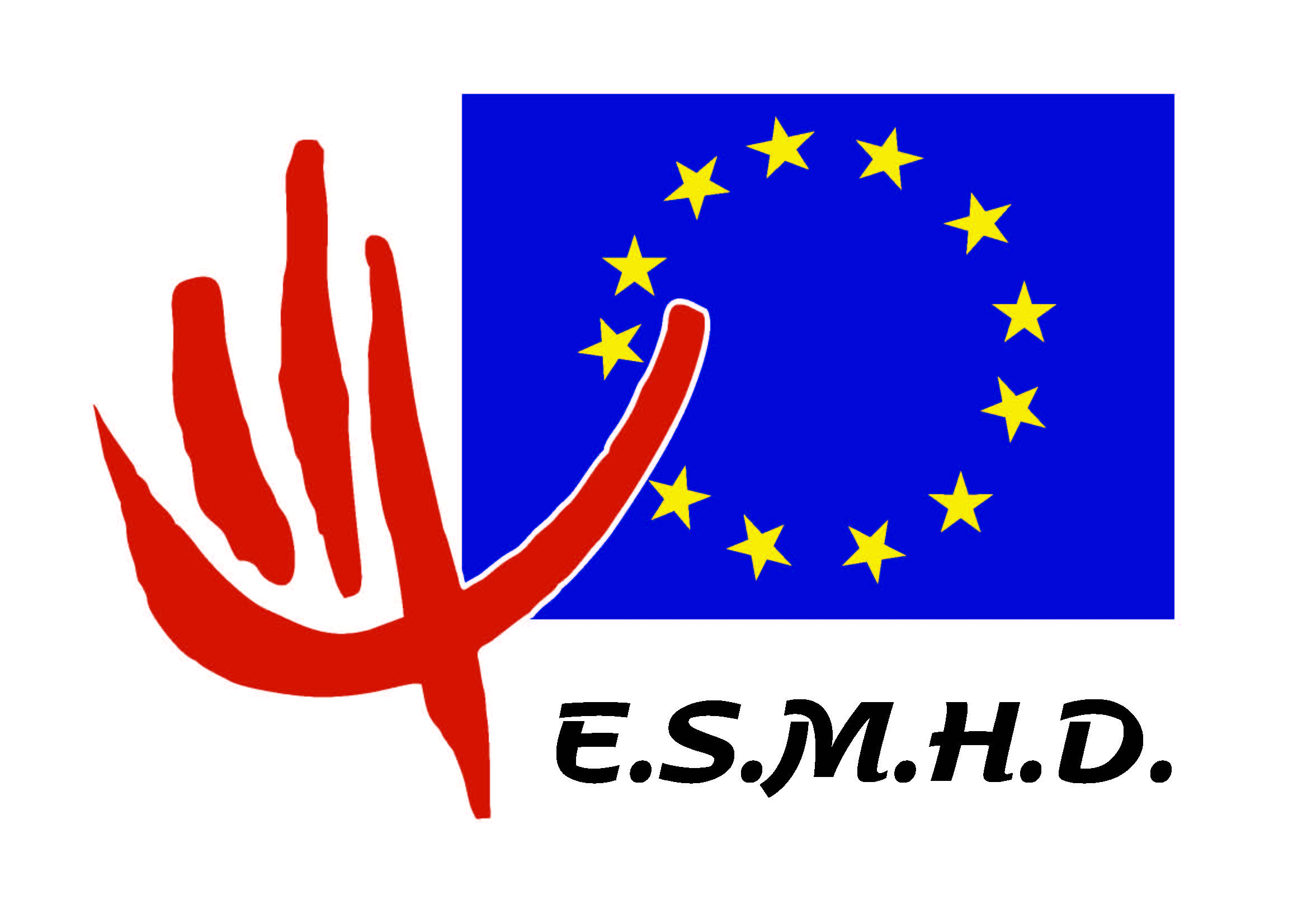 logo for European Society for Mental Health and Deafness