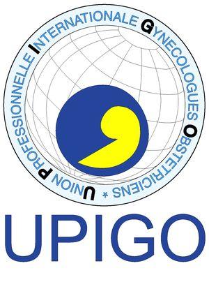 logo for Union professionnelle internationale des gynécologues et obstétriciens