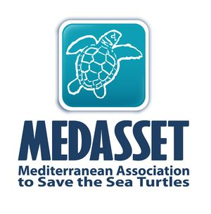 logo for Mediterranean Association to Save the Sea Turtles