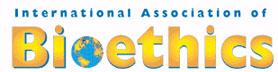 logo for International Association of Bioethics