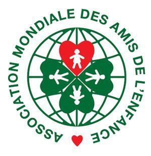 logo for Association Mondiale des Amis de l'Enfance