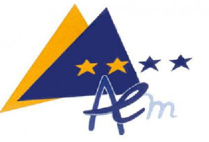 logo for European Association of Elected Representatives from Mountain Regions