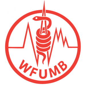 logo for World Federation for Ultrasound in Medicine and Biology