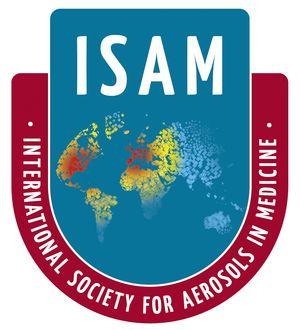 logo for International Society for Aerosols in Medicine