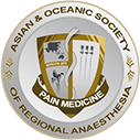 logo for Asian and Oceanic Society of Regional Anaesthesia and Pain Medicine