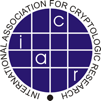 logo for International Association for Cryptologic Research