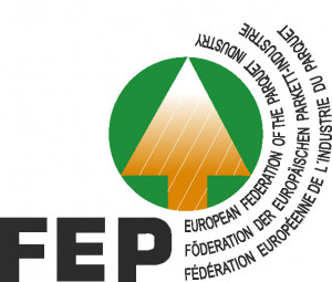 logo for European Federation of the Parquet Industry