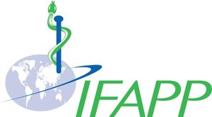 logo for International Federation of Associations of Pharmaceutical Physicians