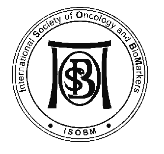 logo for International Society for Oncology and BioMarkers
