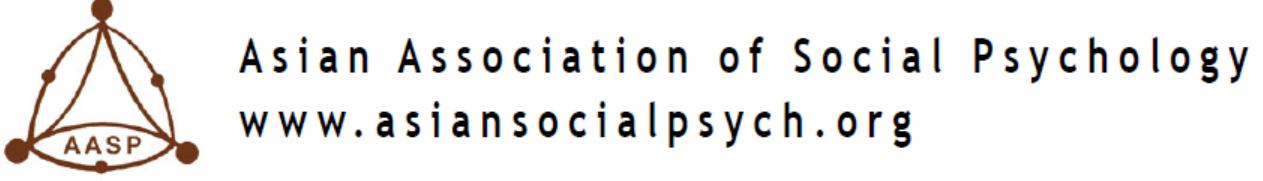logo for Asian Association of Social Psychology