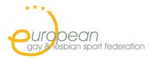 logo for European Gay and Lesbian Sport Federation