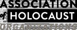 logo for Association of Holocaust Organizations