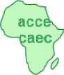 logo for African Council for Communication Education