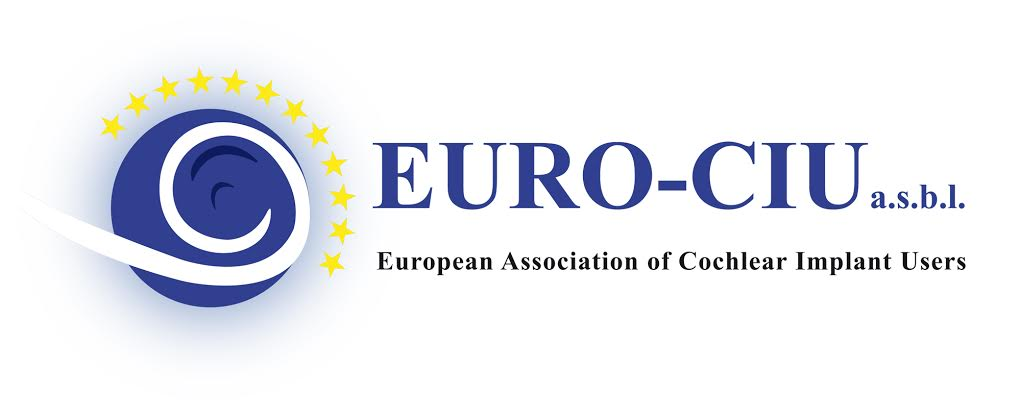 logo for European Association of Cochlear Implant Users