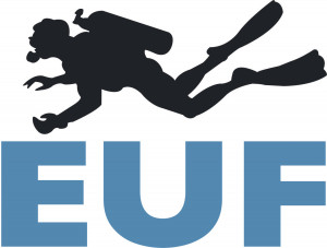 logo for European Underwater Federation
